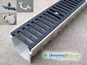 Patio Drain Grate 5 Mearin 100 Driveway Drainage Kit W Ductile Iron Grates