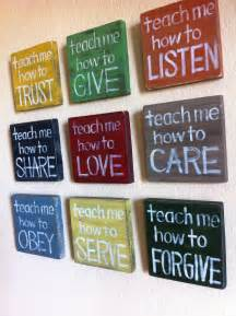 reserved for michelle christian wall art set of 9