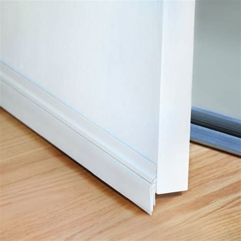 Interior Door Bottom Seal M D Building Products 43301 36 Inch Cinch Door Seal Bottom White 1 New Ebay