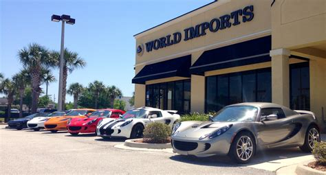 world imports usa  lotus   dealership bmw infiniti volvo mercedes benz  luxury