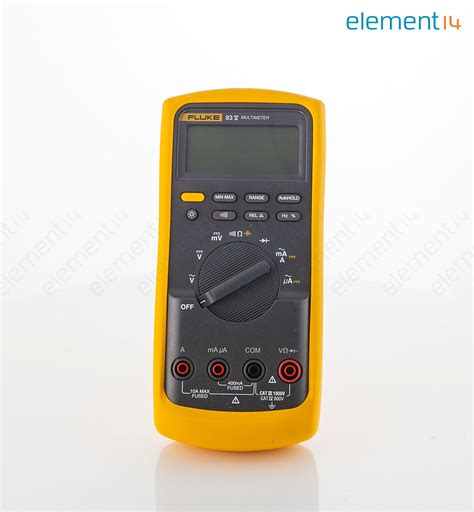 Multimeter Fluke 83 fluke 83 v eur fluke industrial digital multimeter 80
