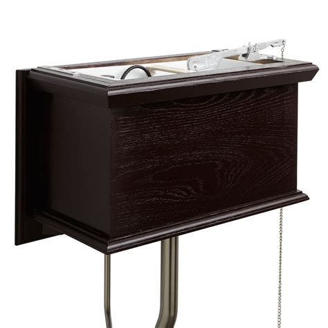 High Tank Water Closet by Mahogany High Tank Pull Chain Water Closet With