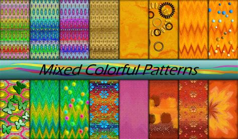 mixed patterns mixed colorful patterns by allison731 on deviantart