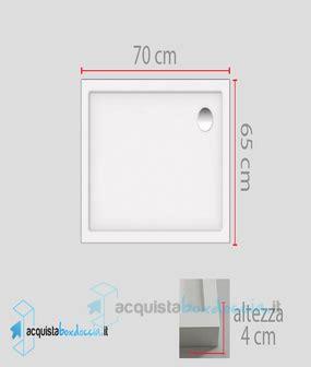 piatto doccia 65x70 vendita piatto doccia 70x65 cm altezza 4 cm colore crema