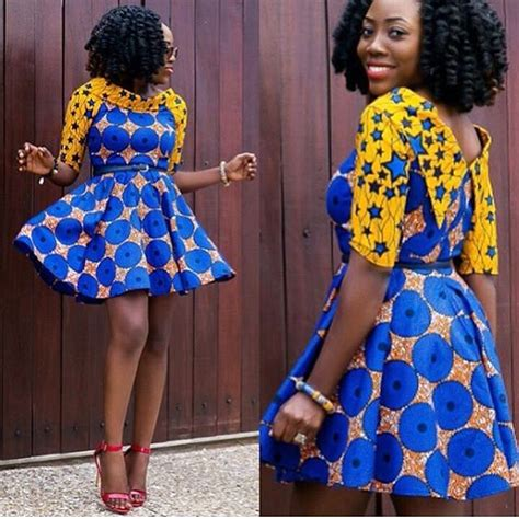ankara short gown in naija ultimate and trendy ankara styles that will wow you
