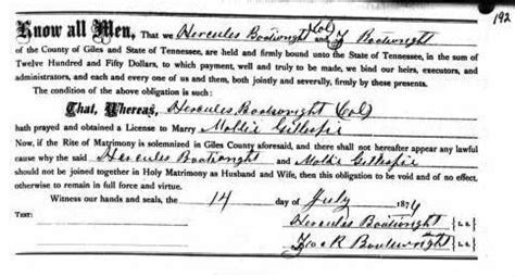 American Marriage Records American Boat W Right Family Genealogy