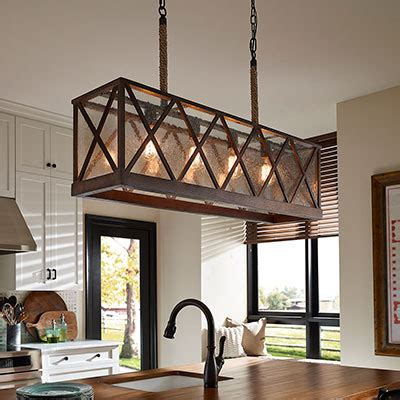 Ceiling Lights For Dining Room by Kitchen Lighting Fixtures Amp Ideas At The Home Depot