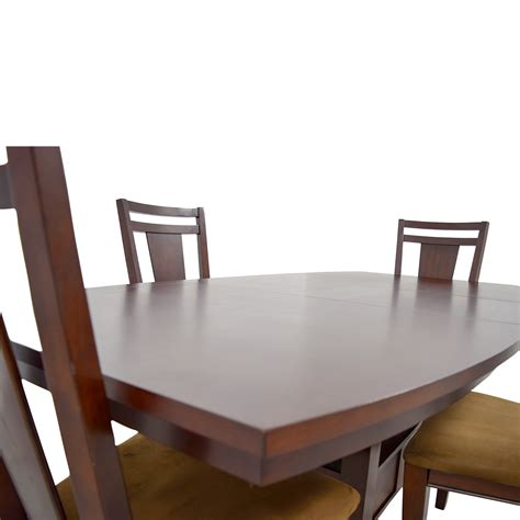 78 broyhill broyhill wood dining table set tables