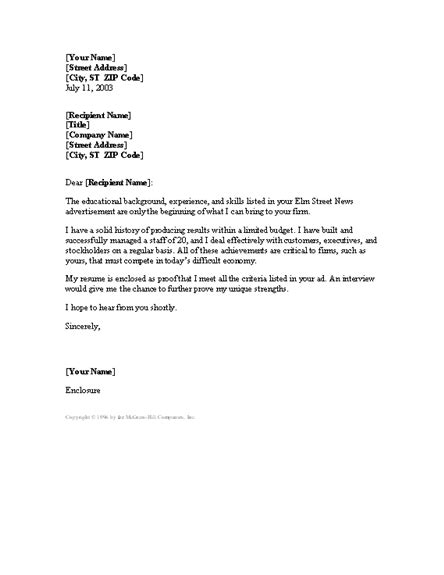 Mis Coordinator Cover Letter by Manager Letter Templates And Open With Microsoft Word 2003 2007 2010 Or 2013