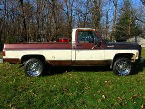 1978 chevy k20 silverado brown