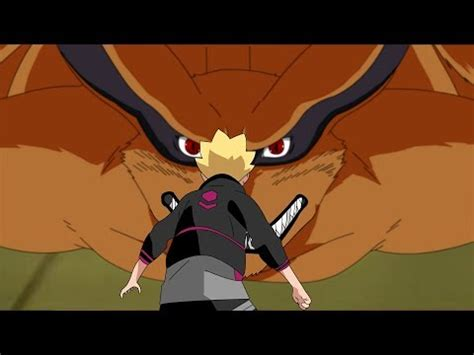 boruto dan kurama boruto meets kurama for the first time boruto naruto