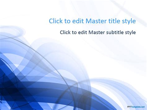 Free Blue Spiral Ppt Template Free Templates For Microsoft Powerpoint