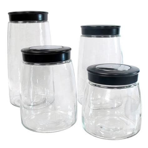 glass kitchen canisters colored glass kitchen canisters all home decorations