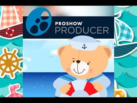 proshow producer templates ursinho marinheiro projeto proshow producer