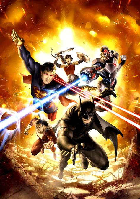 film cartoon war justice league war movie fanart fanart tv