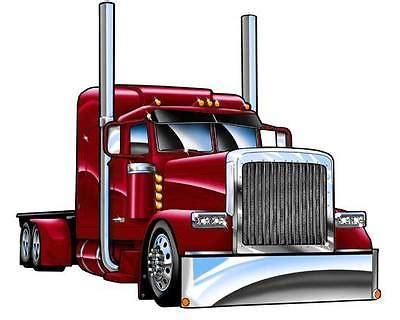 semi truck clip peterbilt 379 truck clipart clipart suggest