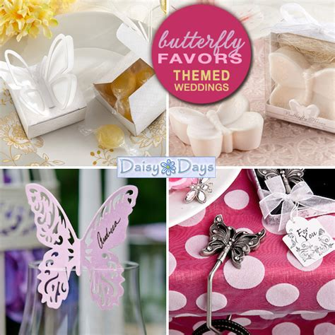 Butterfly Giveaways - butterfly theme weddings