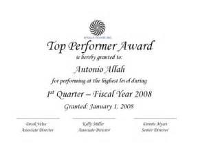 top performer award templates top performer award flickr photo