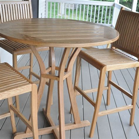 gallery glessboards within white oak outdoor furniture
