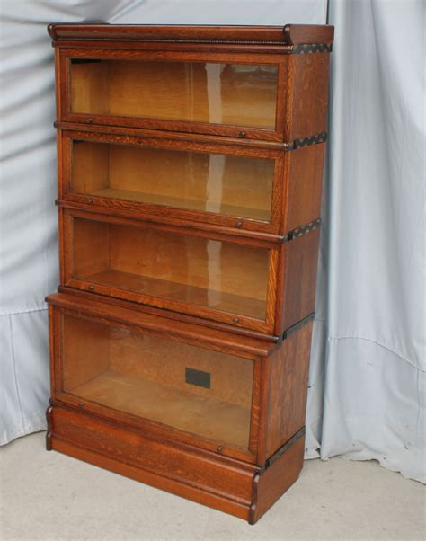 bargain s antiques 187 archive oak bookcase step