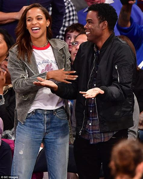 Chris Rock Has A Secret 13 Year Child by Chris Rock Enjoys A Knicks Courtside With