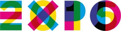 dietro i segni del logo expo 2015