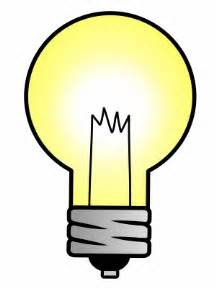drawing a light bulb