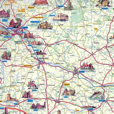 Polish Art Center   Poland Castles Map   Polska Mapa