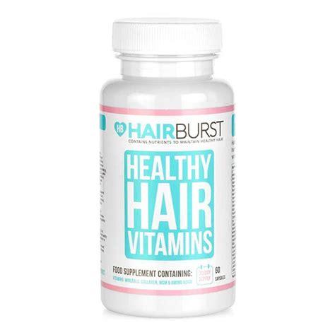 hair burst amazon hairburst healthy hair vitamins 1 month supply superdrug