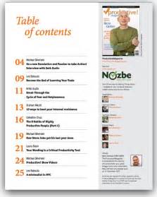 table of contents magazine template best photos of magazine table of contents template time