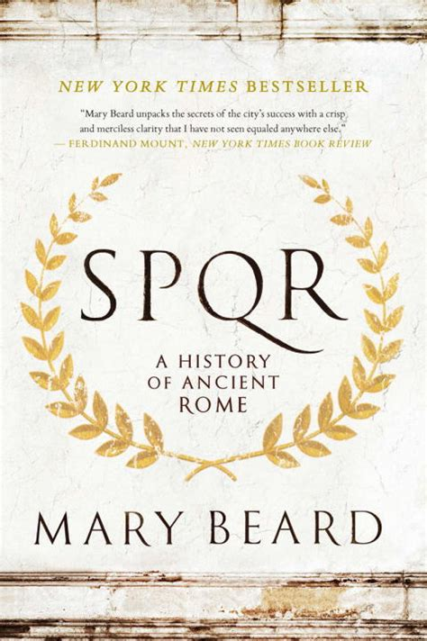 spqr a history of s p q r a history of ancient rome by mary beard paperback booksamillion com books