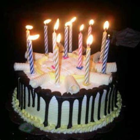 Lilin Ulang Tahun Peppermint Candles gambar kue happy anypersarry myideasbedroom