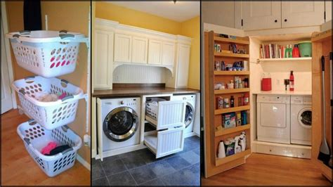 Storage Solutions For Small Laundry Rooms Brilliant Storage Solutions For Laundry Rooms Clever Laundry Room Storage Solutions
