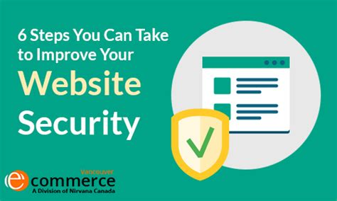 15 Steps You Can Take To Secure Your by 6 Steps You Can Take To Improve Your Website Security