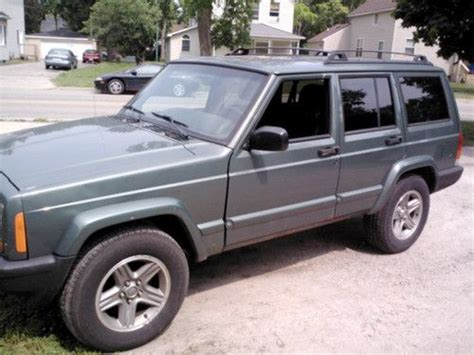 2000 jeep classic purchase used 2000 jeep cherokee classic 4 0l in ypsilanti