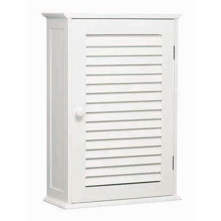 white wood wall cabinet with one inner shelf 1600900 at