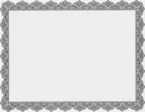 blank certificate templates blank gray business certificate templates printable
