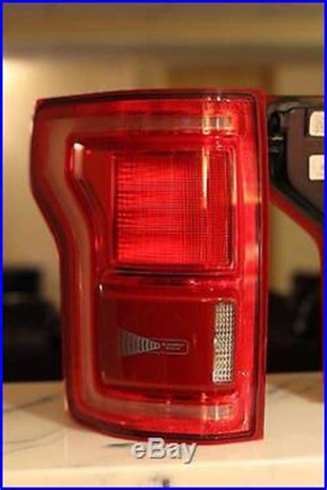 2017 f150 tail lights 2015 2017 ford f 150 f150 oem led tail lights blind spot radar