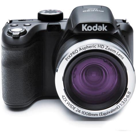 Ces 2008 Kodaks New Digital Cameras Including Touchscreen Easyshare V1273 by Kodak Pixpro Az421 Digital Black Az421 Bk B H Photo
