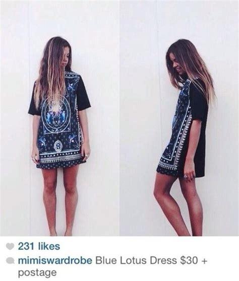 Vannesa Dress Series 3 Original Brand By Rara Busana dress black dress blue lotus