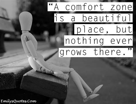 quotes about comfort zone 249 quotes