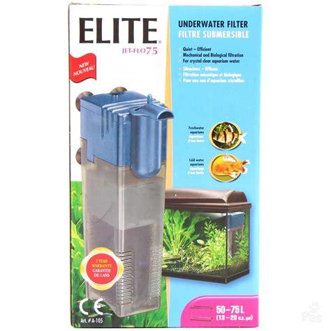 under water filter elite jet flo 75 underwater filter