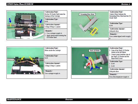 reset printer r230 manual epson stylus photo r220 r230 service manual
