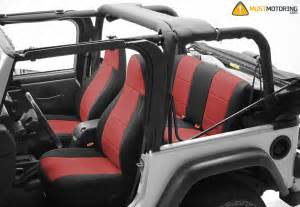 Custom Jeep Seats Mustmotoring The Finest Ultra Custom Seat Covers