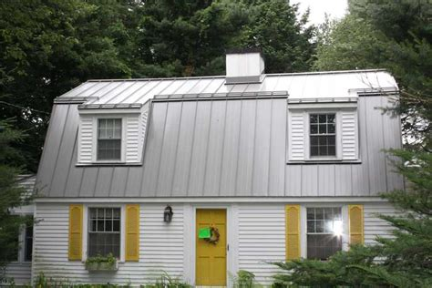 metal roofs installed on homes and commercial buildings residential metal roofing prices total cost installed vs