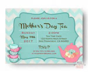 mothers day tea invitation mothers day tea invites printable mothers day brunch