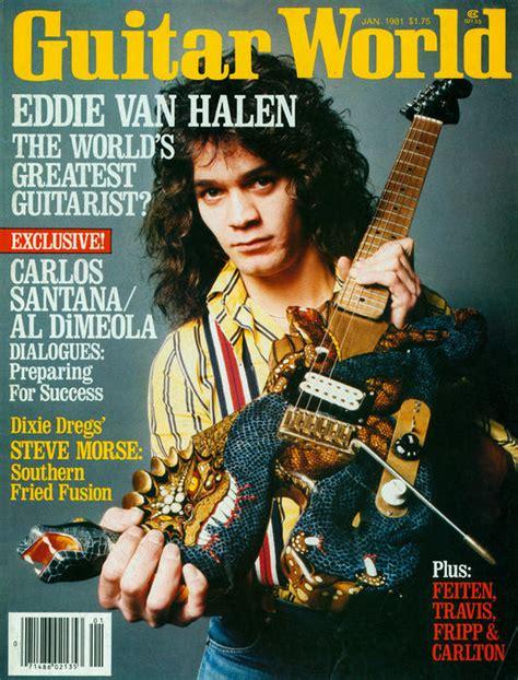 eddie van halen dragon guitar eddie van halen opens up in his first guitar world
