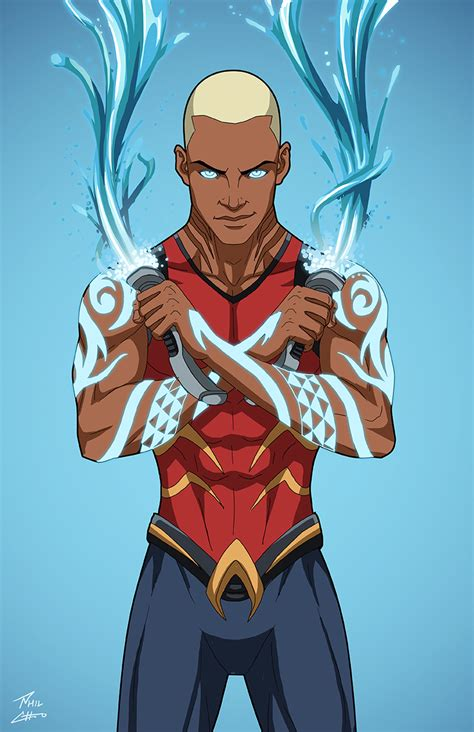 aqualad 2 0 earth 27 commission phil cho