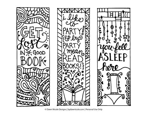 printable bookmarks to colour pdf free printable bookmarks yahoo image search results