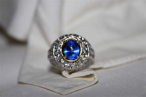 batu akik blue safir design bild